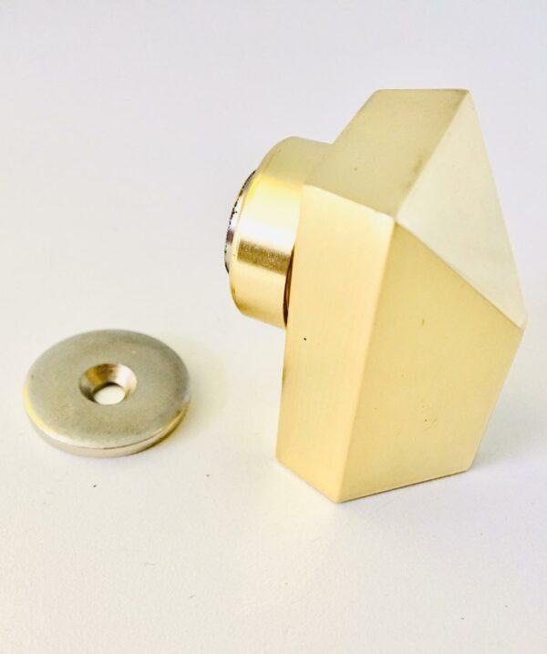 Portal Fechaduras Puxadores -Prendedor de porta Dourado
