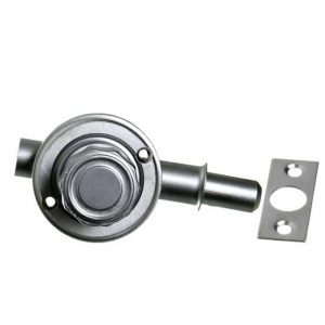 Portal Fechaduras e Puxadores- Fechadura Batom cromada
