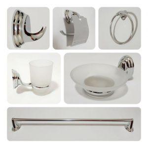 Portal Fechaduras Puxadores- Kit de acessorios para Banheiro